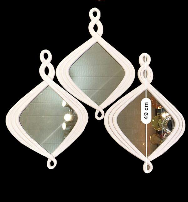 آینه ی دکوراتیو لوزی