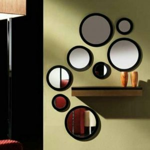 آینه 8 تیکه دکوراتیو