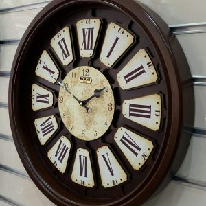 ساعت دیواری چوبی هوکر