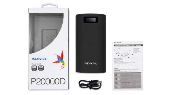 پاور بانک ای دیتا مدل P20000D