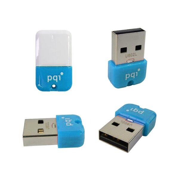 pqi u602l flashdisk usb 20 cob shockproof waterproof 32gb blue