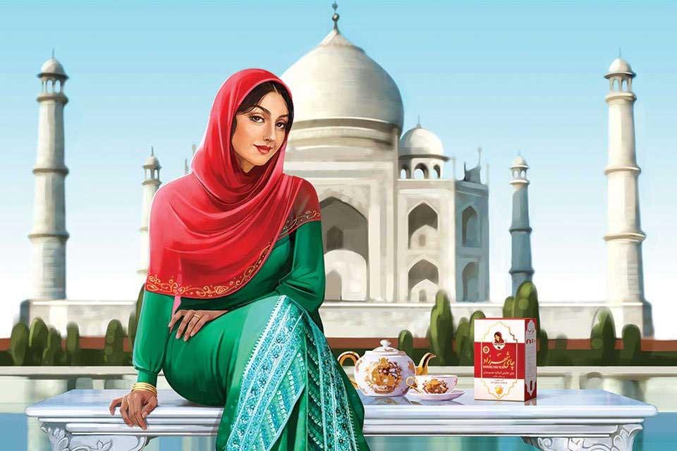 چای کلکته هندوستان شهرزاد 2