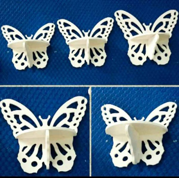 شلف پروانه سه تایی