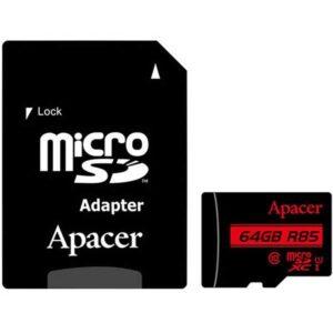 کارت حافظه اپیسر همراه با آداپتور SD ظرفیت 64 گیگابایت