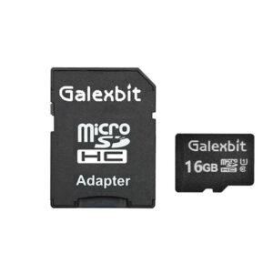 کارت حافظه گلکسبیت ظرفیت 16 گیگابایت به همراه آداپتور SD