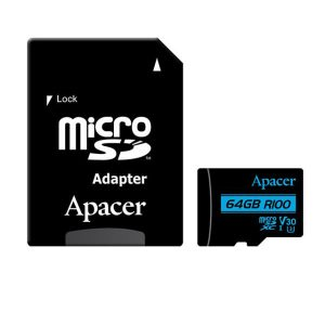 کارت حافظه اپیسر مدل V30 ظرفیت 64 گیگابایت به همراه آداپتور SD