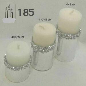 شمع استوانه 3 عددی
