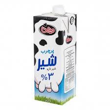 شیر فرادما پر چرب 1 لیتری میهن
