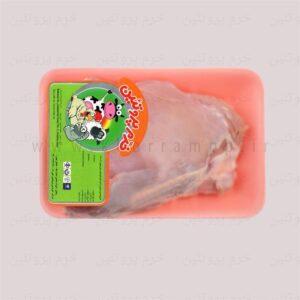 گوشت ران بوقلمون تازه بدون پوست و استخوان (1کیلویی)