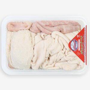 سیرابی و شیردان گوسفندی تازه (یک دست)