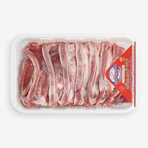 دنده بدون استخوان گوسفندی خرم پروتئین (1 کیلویی)