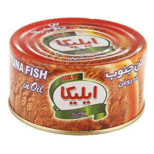 کنسرو ماهی تن در روغن 180 گرمی ایلیکا