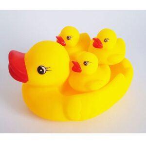 عروسک حمام طرح اردک