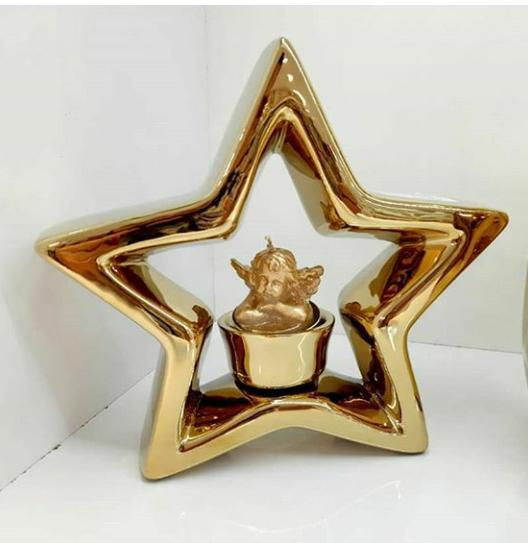 شمعدان ستاره ای دکوری