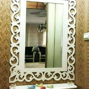 آینه قدی با کنسول pvc