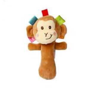عروسک پولیشی جغجغه ای طرح میمون