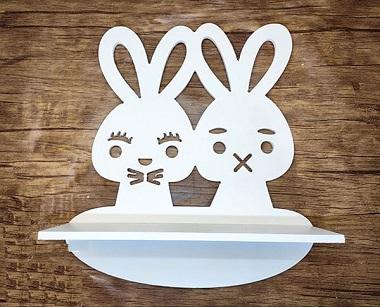 شلف دیواری خرگوش
