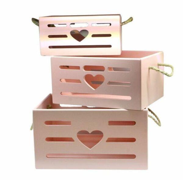 باکس چوبی قلبی