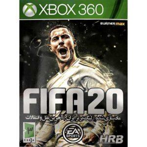 خرید بازی FIFA 20 مخصوص XBOX 360