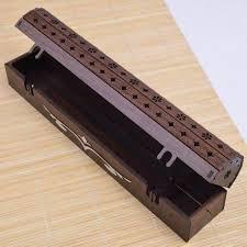 جاعودی صندوقی چوبی طرح نگار