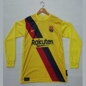 پیراهن آستین بلند دوم بارسلونا