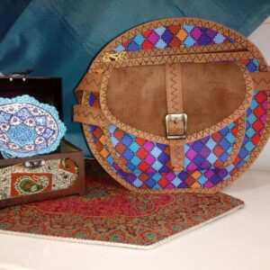 کیف جاجیمی فانتزی گرد