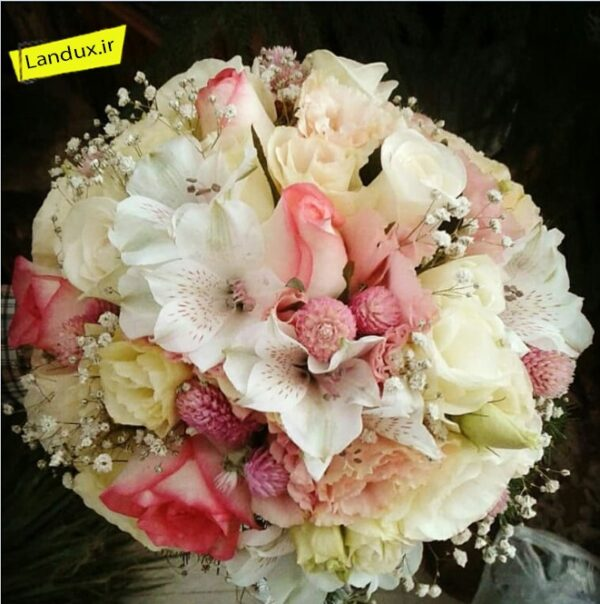 دسته گل عروس کد11