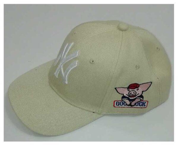 کلاه کتان گلدوزی