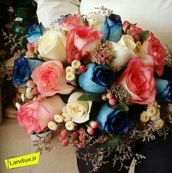 دسته گل عروس کد 33