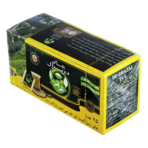 چاي کيسه اي سبز 25 عددي دوغزال