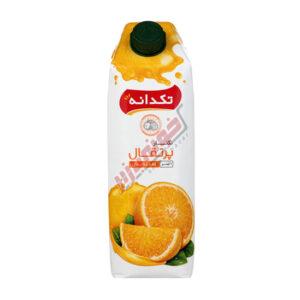 آب پرتقال جمینا 1 لیتری تکدانه