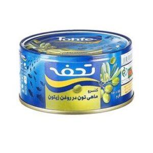 تن ماهی در روغن زیتون تحفه