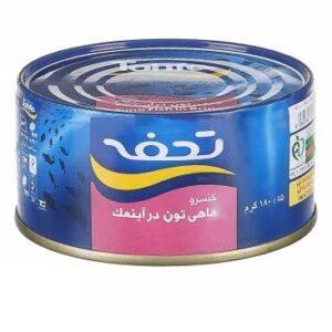 تن ماهی رژیمی 180 گرمی تحفه