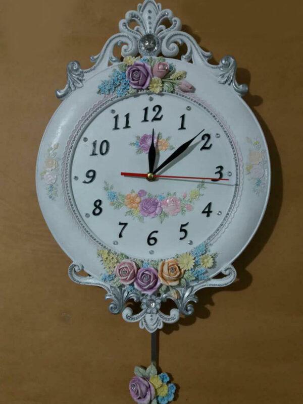 ساعت دیواری رزین کد 002