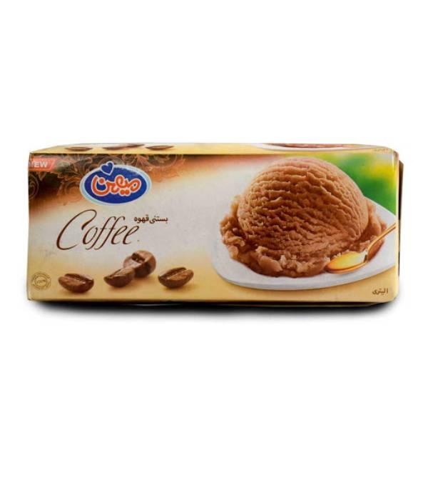 بستنی ۱ لیتری قهوه میهن