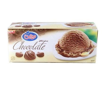 بستنی شکلاتی میهن 1 لیتر