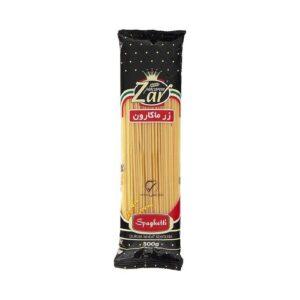 اسپاگتی زرماکارون وزن 500 گرم قطر 2.5