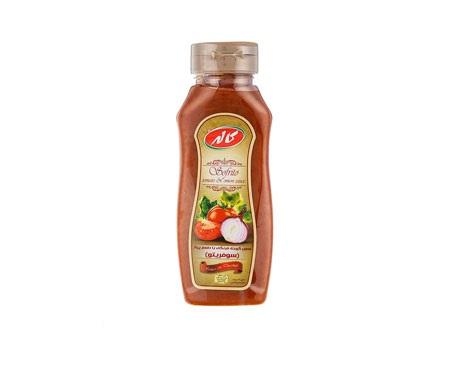 سس گوجه با طعم پیاز 250 گرم کاله