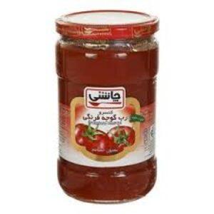 رب گوجه شیشه ای چاشنی