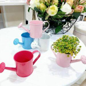 گلدان فلزی آبپاش