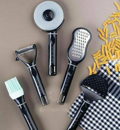 ست پنج پارچه ابزار آشپزخانه مارک آجار ترک