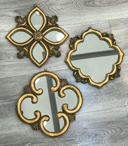 آینه های دکوراتیو سه تایی