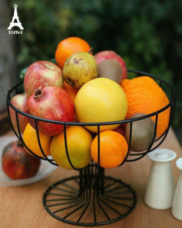 سبد میوه فلزی