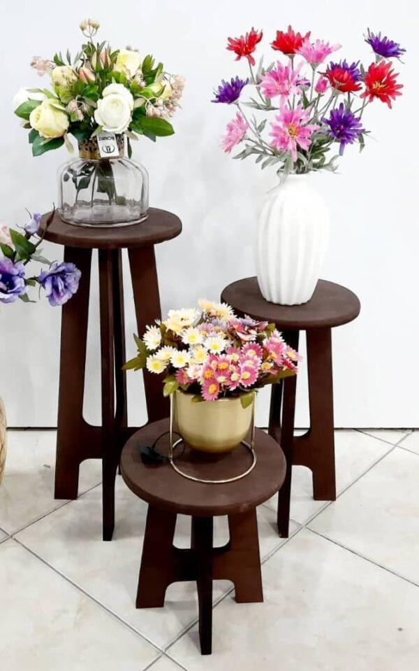 پایه گلدان سه سایز