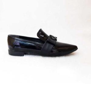 کفش زنانه تخت طرح ترک کد002