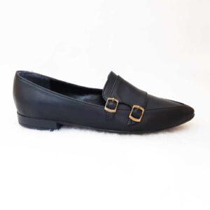 کفش زنانه تخت طرح ترک کد003
