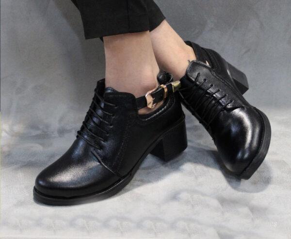 کفش زنانه کلاسیک بنددار کد0044
