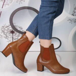 کفش نیم پوت زنانه 0055