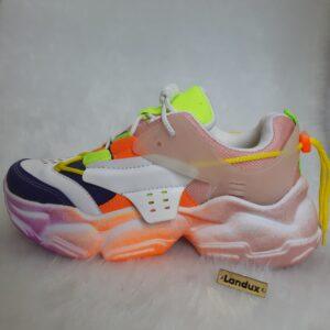 کفش اسپرت دخترانه فشیون رنگ کد0038