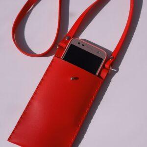 کیف دوشی موبایل دست دوز کدB008